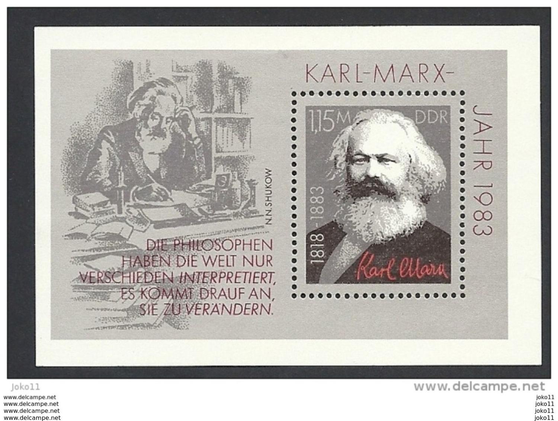 DDR, 1983, Block 71 Michel-Nr. 2789, **postfrisch - [6] Democratic Republic