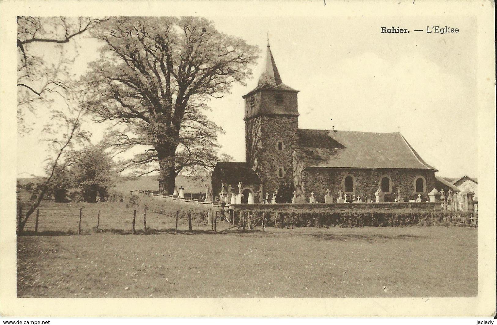 Rahier -- L' Eglise.    (2 Scans) - Stoumont
