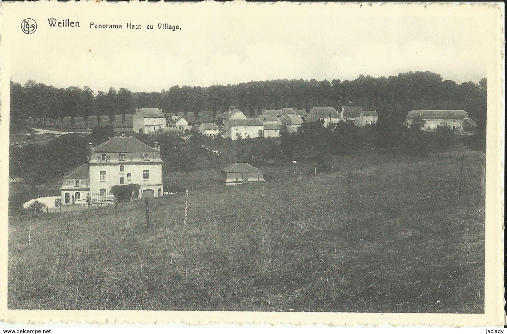 Weillen -- Panorama Haut Du Village. (2 Scans) - Onhaye