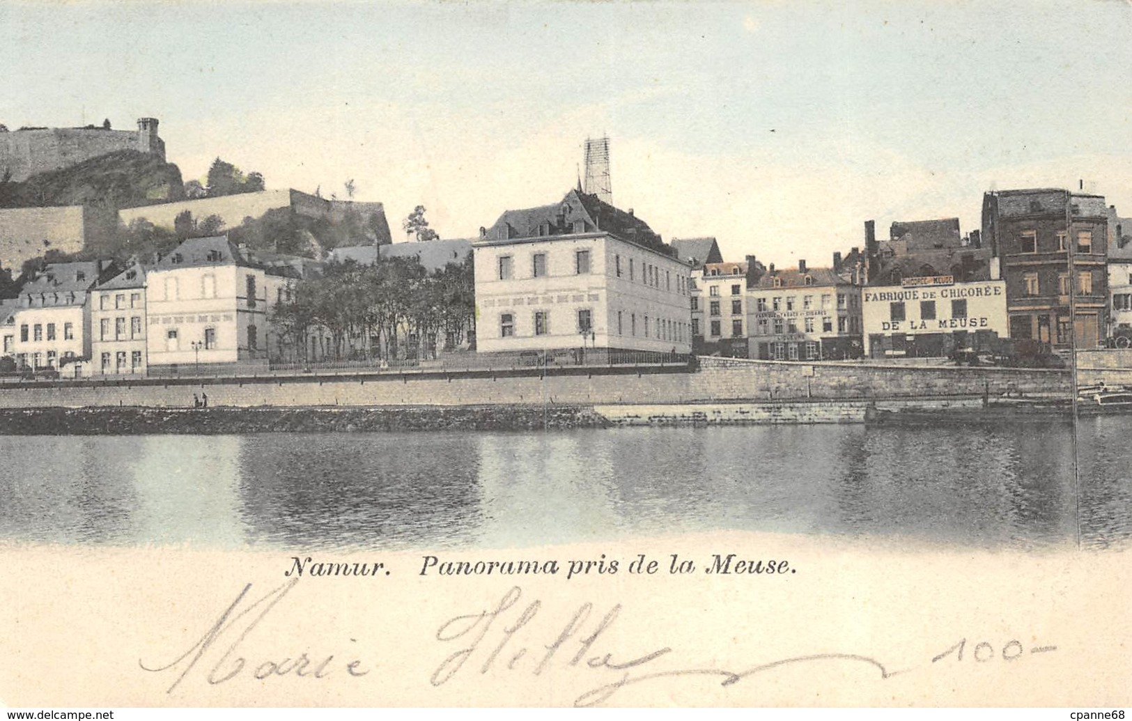 Namur - Panorama Pris De La Meuse - Namur