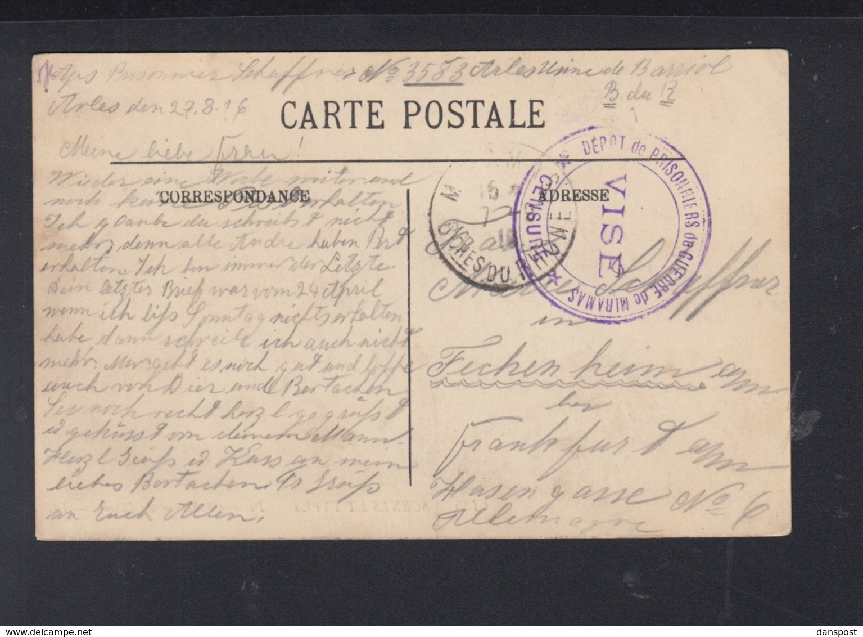 France  CP Prisonniers De Guerre Miramas - Poststempel (Briefe)