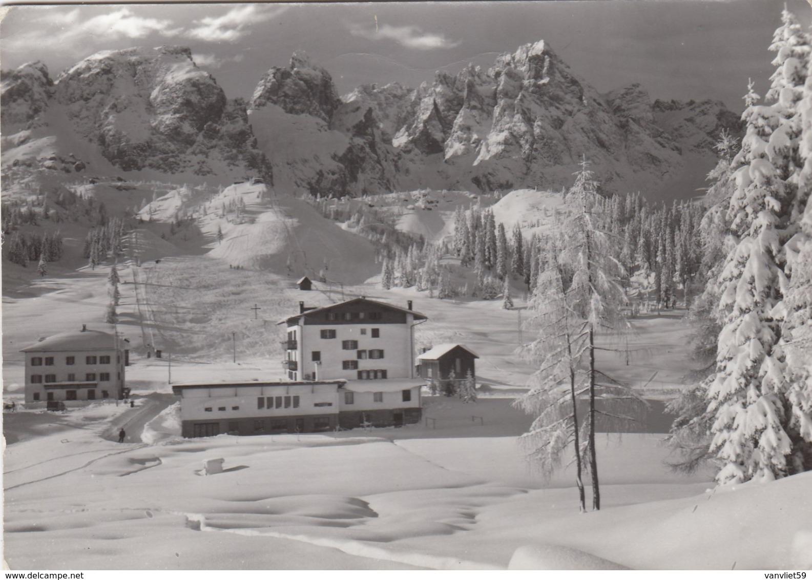 SEXTEN-SESTO-BOZEN-BOLZANO-ALBERGO PASSO MONTE CROCE-COMELICO-CARTOLINE VERA FOTOGRAFIA- VIAGGIATA - Bolzano (Bozen)