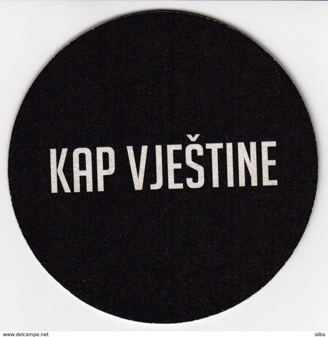Beer Mats - GRIF Lager, Kap Vjestine, Drop Of The Skill / Croatia / Bier / Coaster, Mat - Portavasos