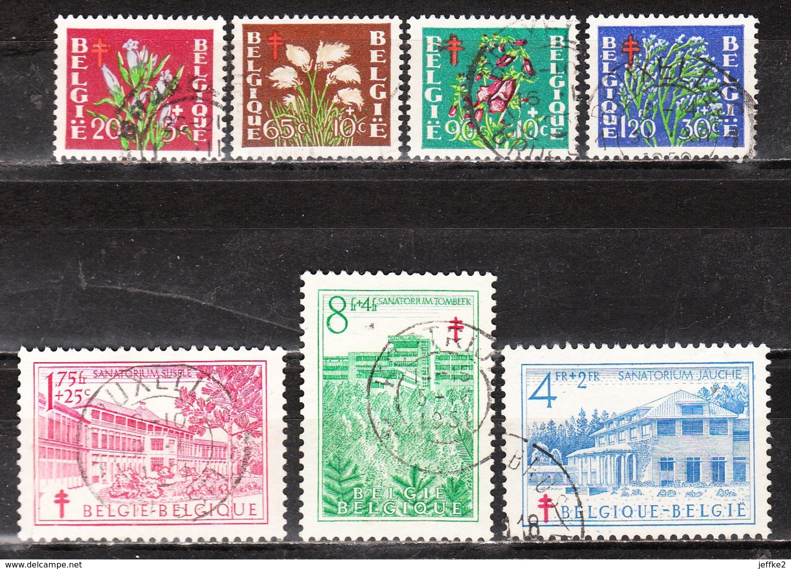 834/40  Antituberculeux - Série Complète - Oblit. - LOOK!!!! - Used Stamps