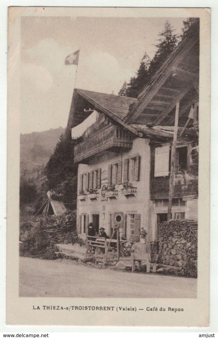 Suisse // Schweiz // Switzerland //  Valais // La Thiez Sur Troistorrents, Café Du Repos - VS Valais