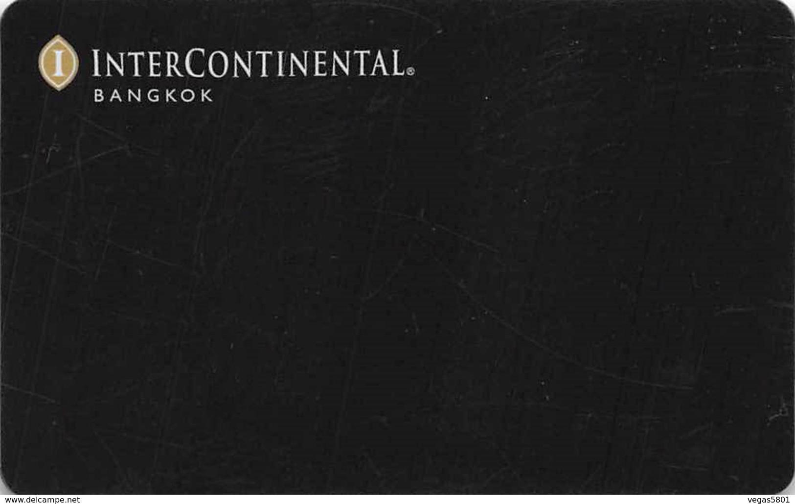 INTERCONTINENTAL - Bangkok - Hotel Room Key Card, Hotelkarte, Schlüsselkarte, Clé De L'Hôtel - Hotelkarten