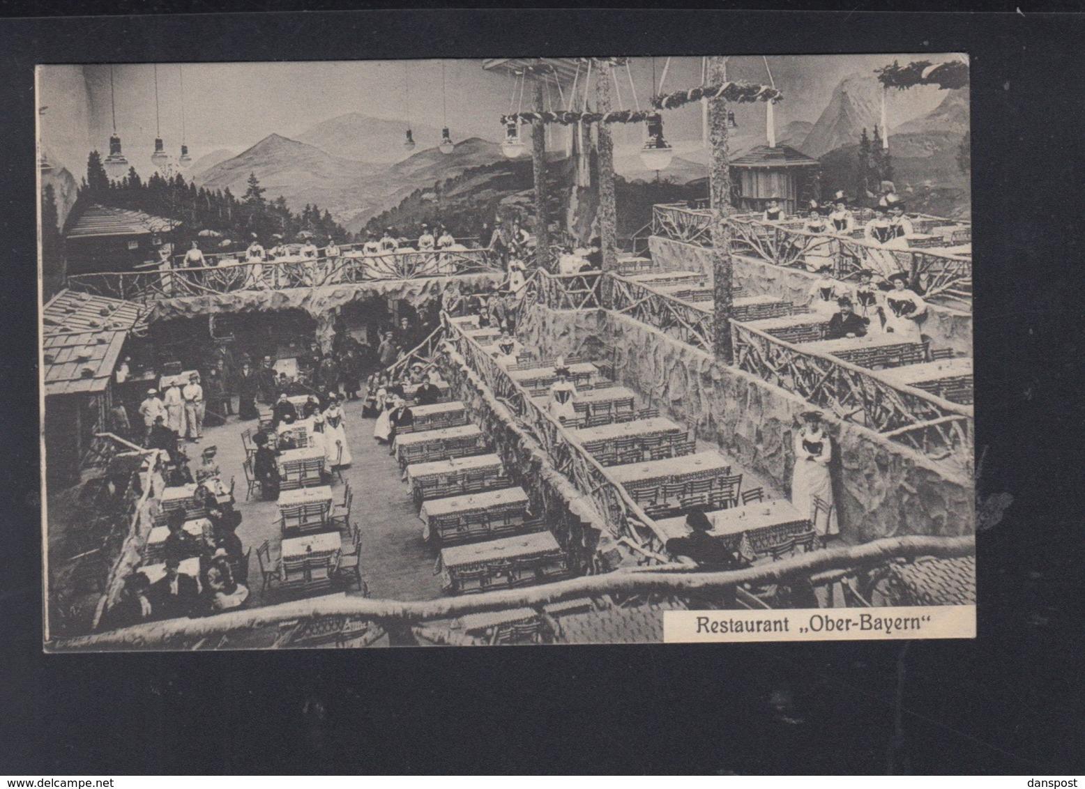 Dt. Reich AK Restaurant Ober-Bayen Köln 1917 - Köln