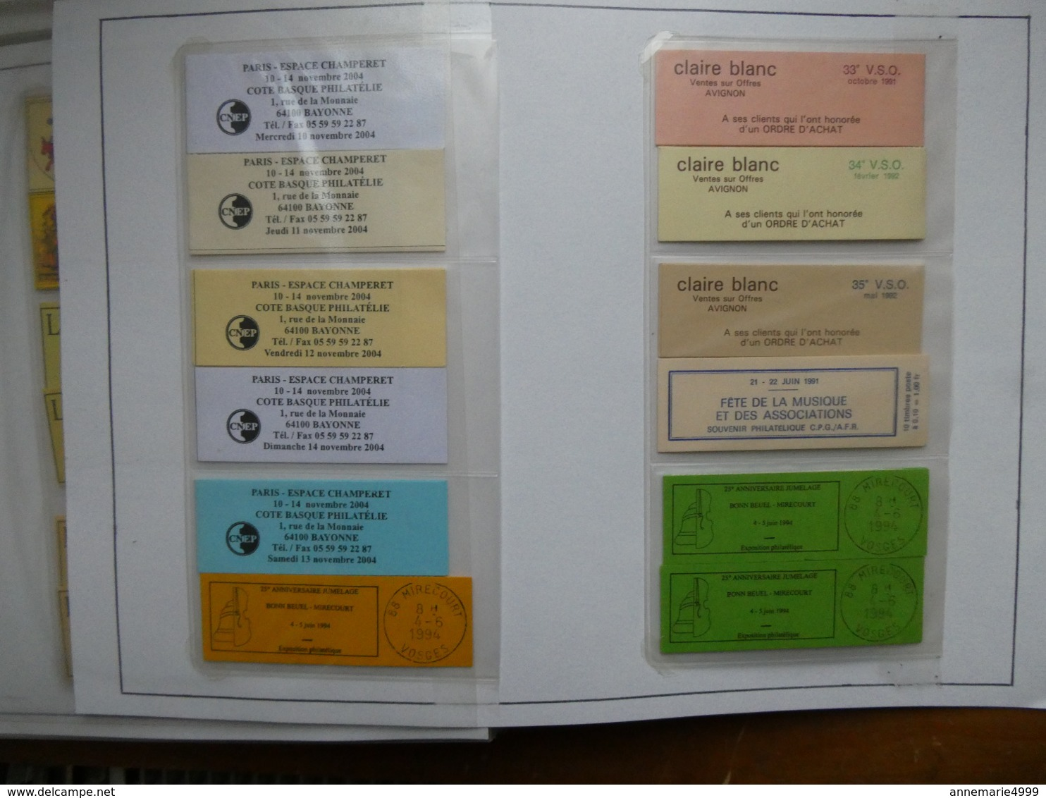FRANCE  Collection De 122 Carnets Tests Ou Privés Ou Porte-timbres Parfait état - Carnets