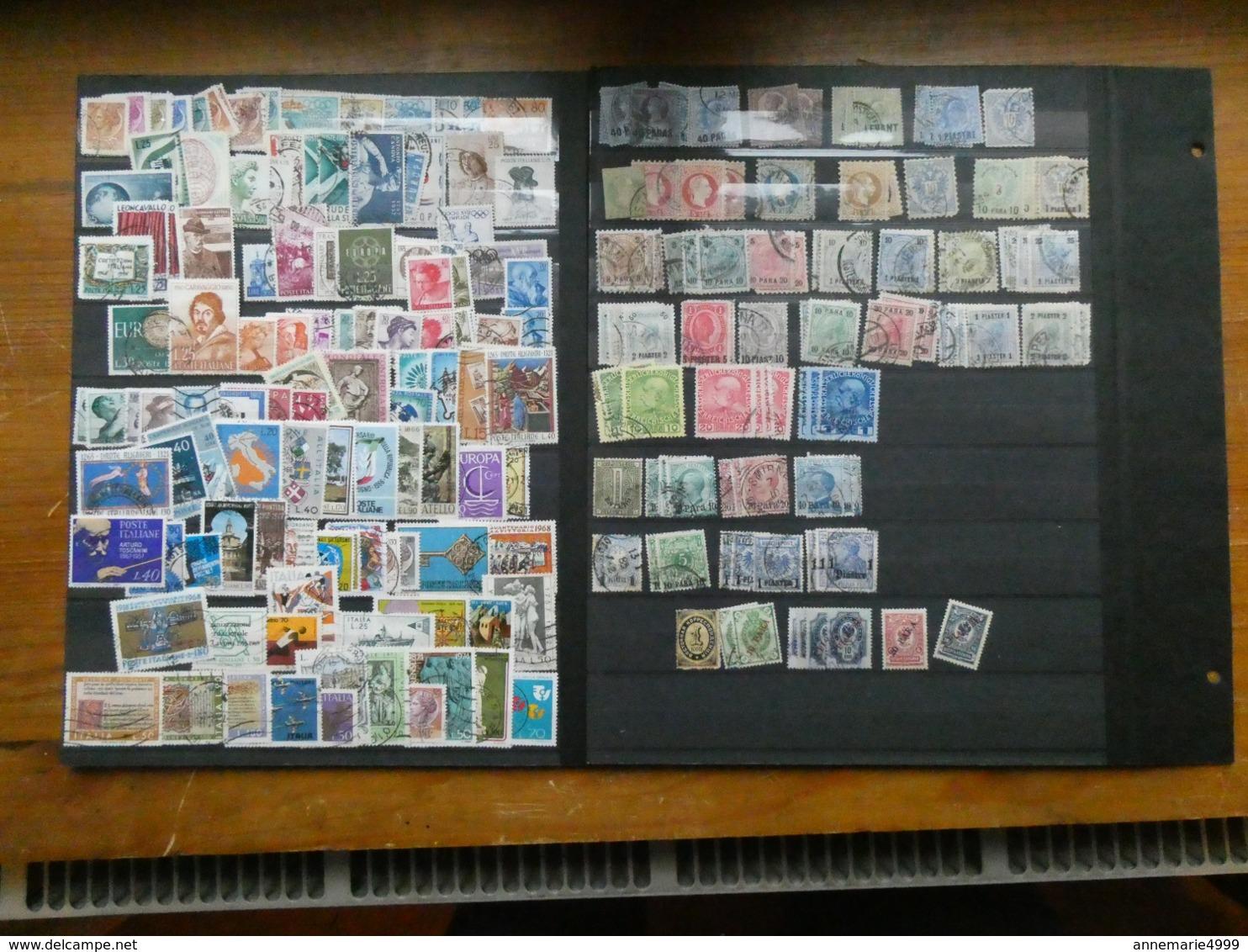 EUROPE  Collection-accumulation Tous Pays, Tous états, Toutes Périodes Dont Anciens Environ 4000 Timbres - Timbres
