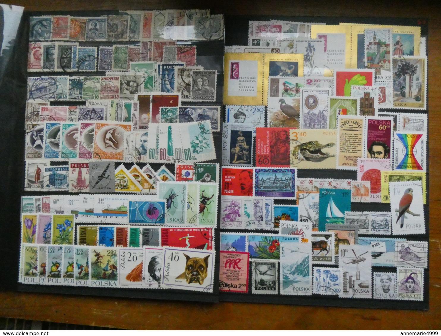 EUROPE  Collection-accumulation Tous Pays, Tous états, Toutes Périodes Dont Anciens Environ 4000 Timbres - Collections (en Albums)