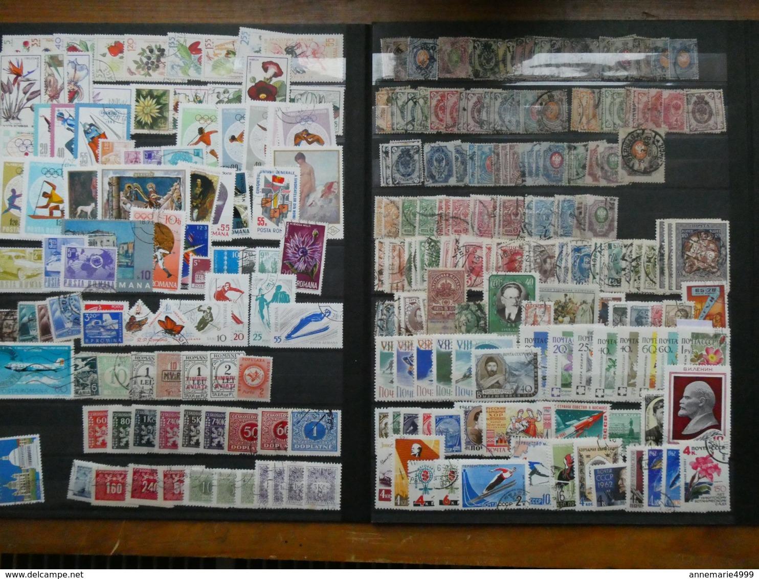 EUROPE  Collection-accumulation Tous Pays, Tous états, Toutes Périodes Dont Anciens Environ 4000 Timbres - Stamps