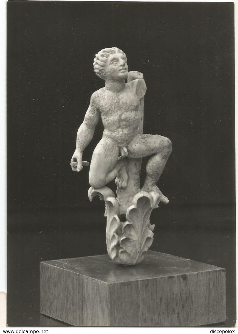 W5465 Paestum (Salerno) - Museo Enkelados - Statuetta D'avorio - Scultura Sculpture / Non Viaggiata - Sculture