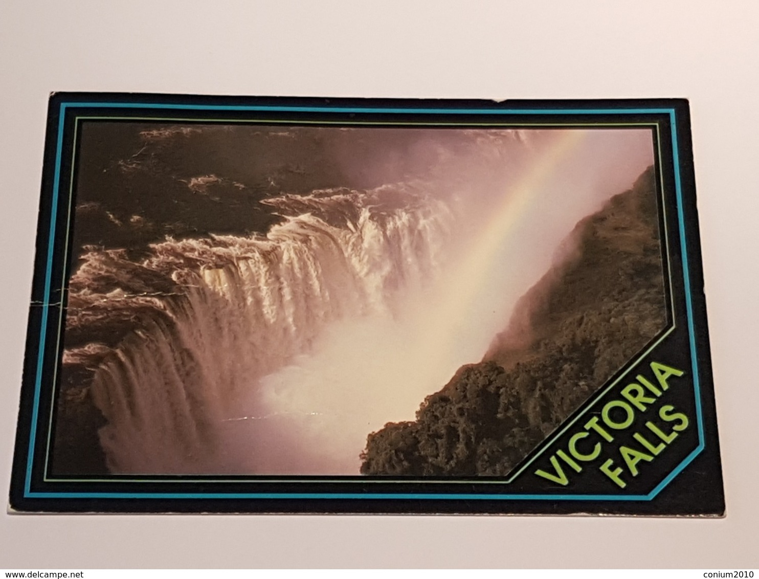 Simbabwe, Victoria Falls (gelaufen, 1993); H37 - Simbabwe