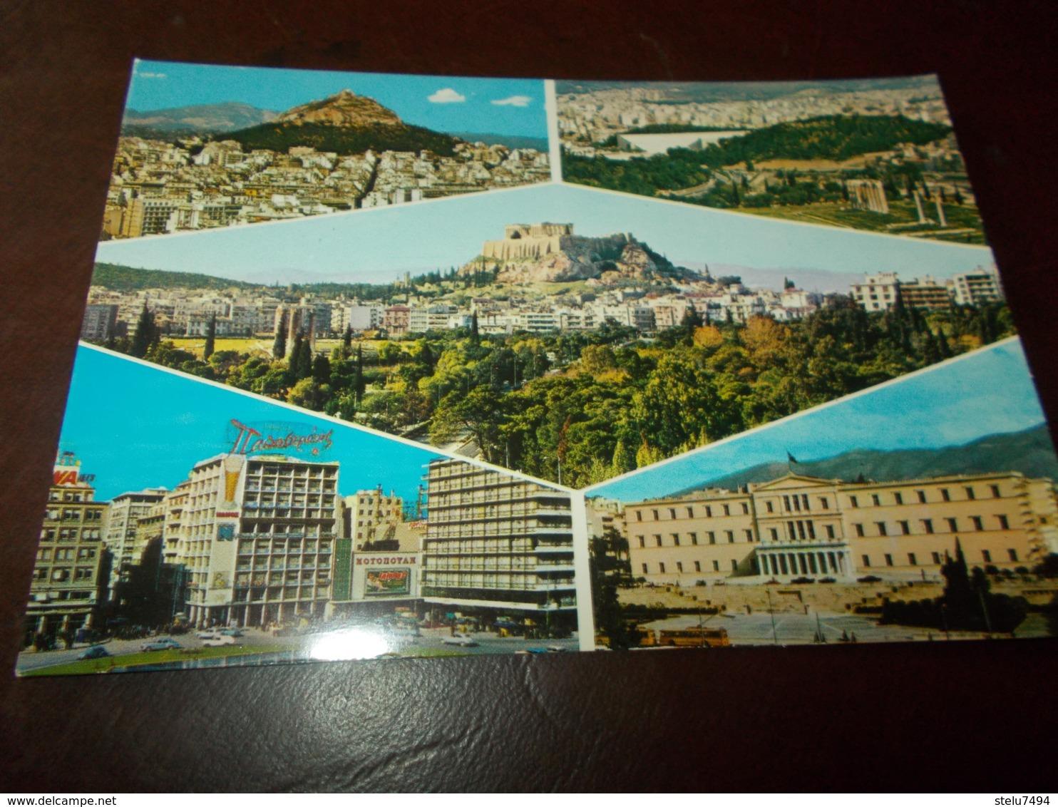 B742  Atene Vedute Non Viaggiata - Grecia