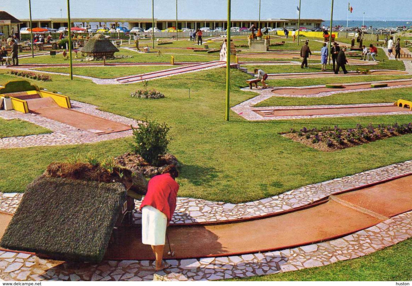 DEAUVILLE - Le Golf Miniature, Animée - Deauville
