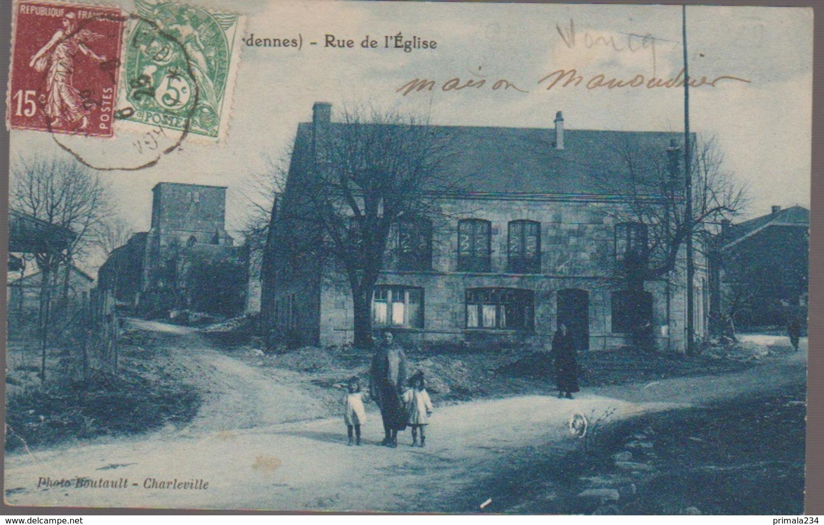 VONCQ - RUE DE L EGLISE - Sonstige Gemeinden