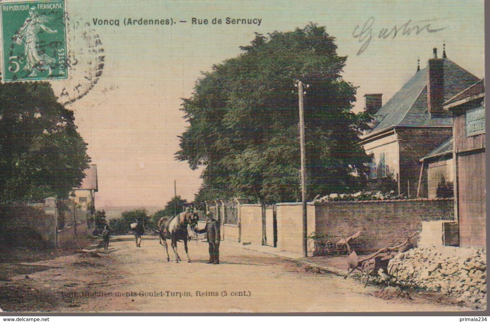 VONCQ - RUE DE SERNUCY - Autres Communes