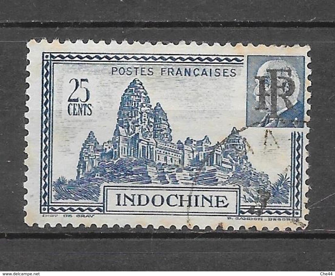 1946 : Timbres De 1941 : N°299 Et 300 Chez YT. (Voir Commentaires) - Indochine (1889-1945)