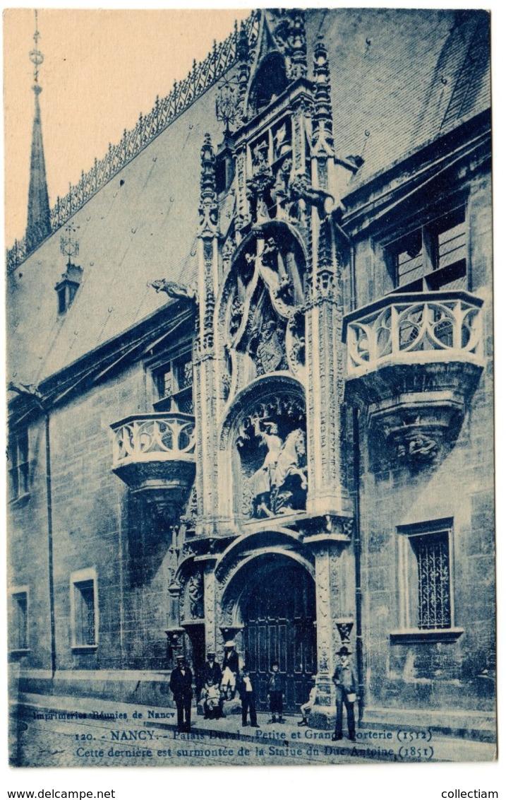 NANCY - Palais Ducal. Petite Et Grande Porterie - Nancy