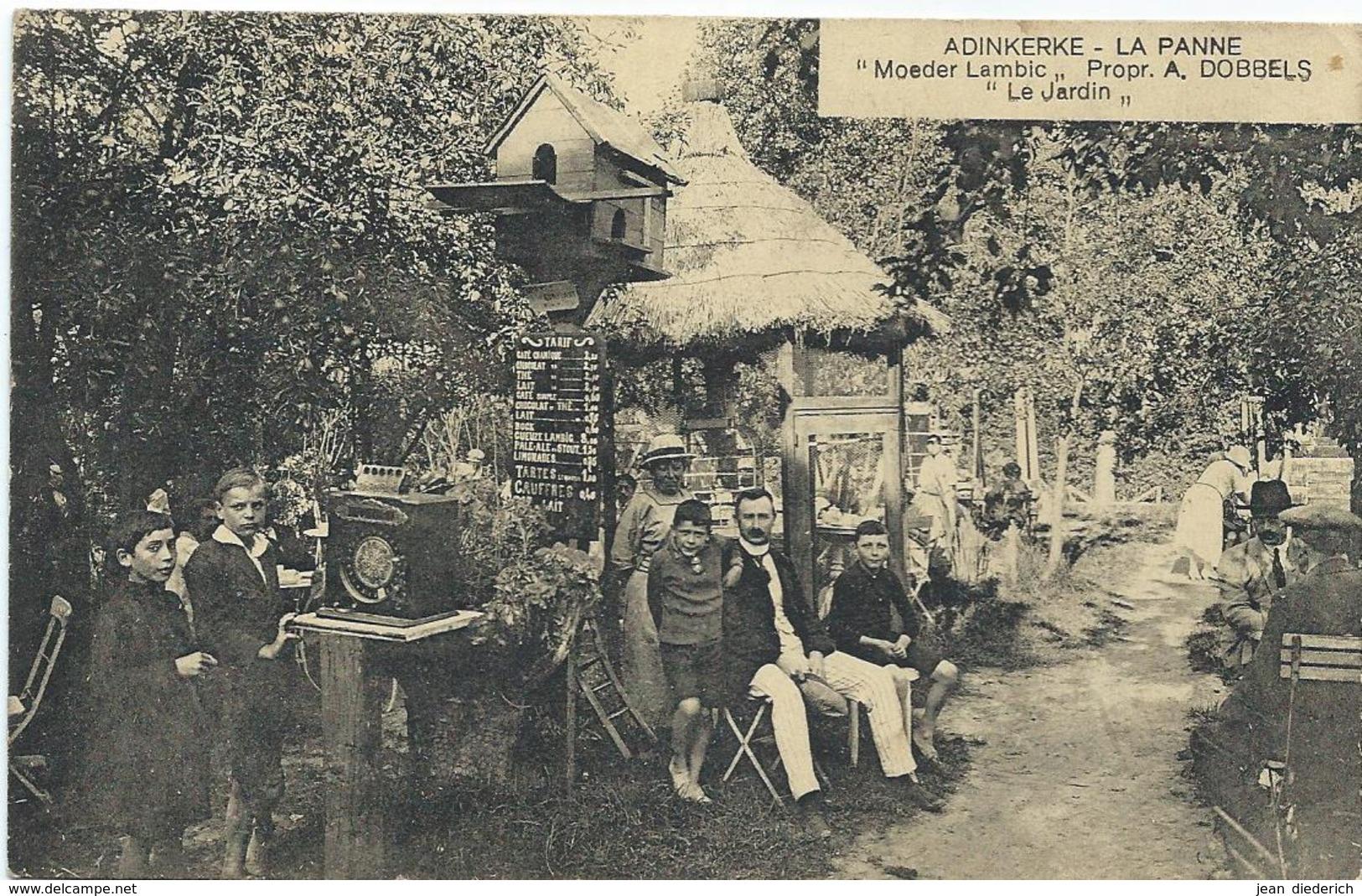 Adinkerke (La Panne) - Moeder Lambic - Le Jardin - De Panne