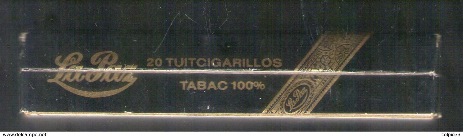 BOITE CARTON DE 20 CIGARES CALDERON . TABACOS  LA PAZ . BOITE DE COLLECTION AVANT LES ANNEES 2000 - Contenitore Di Sigari