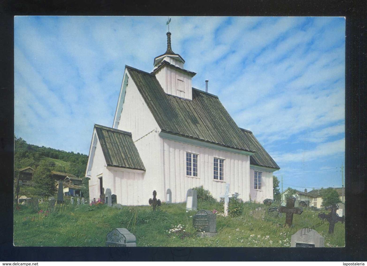 Noruega. Setesdal Valley. *Bykle Church* Nueva. - Noruega