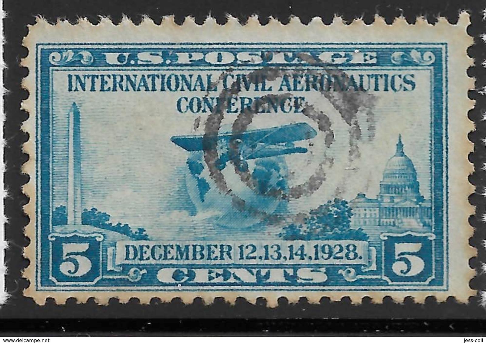 Yvert 280 Michel 315 - 2 C Carmin - O - United States