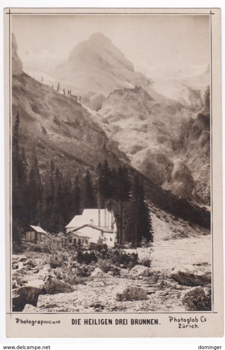 Österreich Südtirol Original Foto !!! 1910   15X10 Cm   - Die Heiligen Drei Brunnen - Österreich