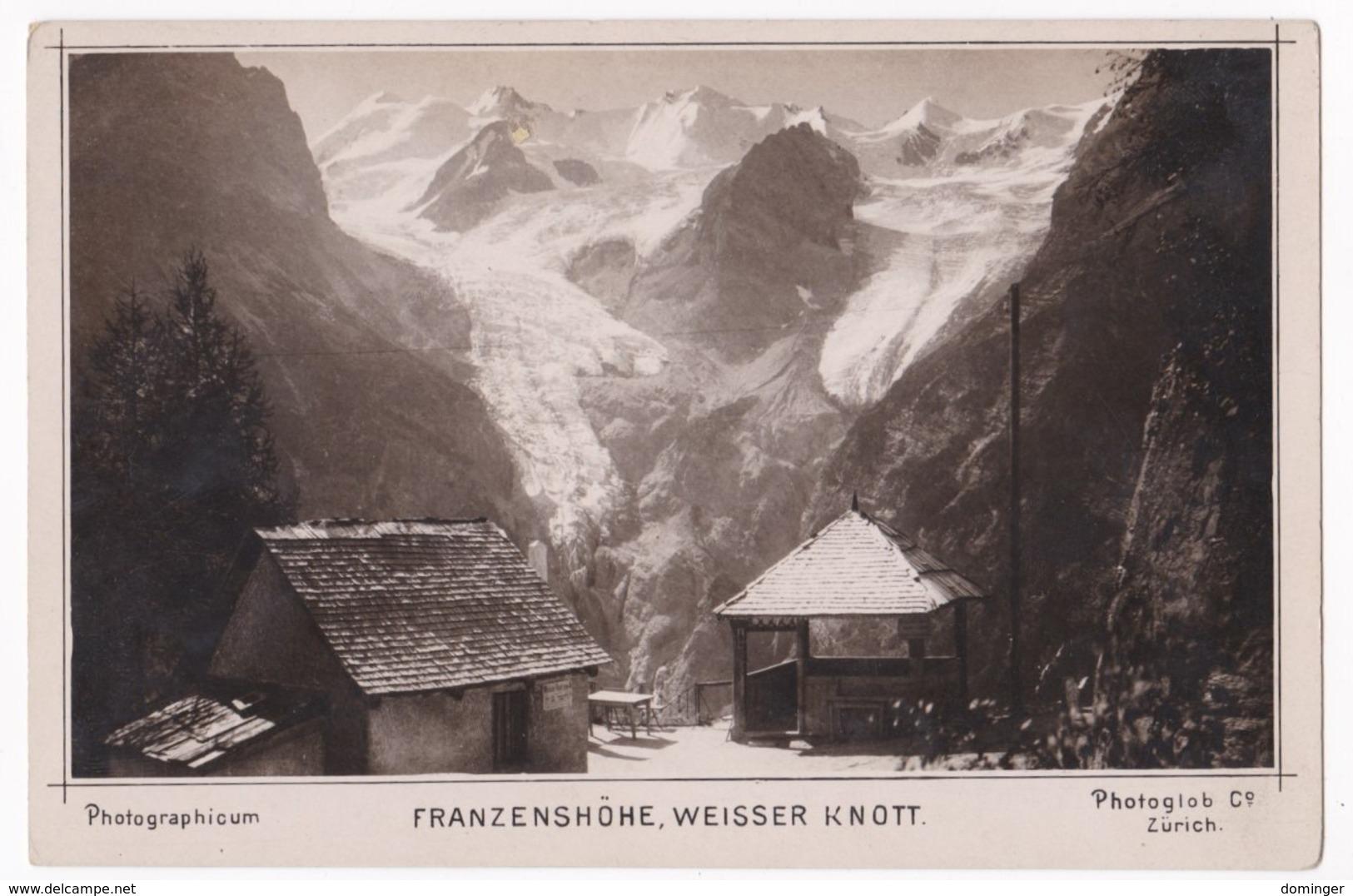 Österreich Südtirol Original Foto !!!  Ca.1910   15X10 Cm   - Franzenshöhe  Weisser Knott - Österreich