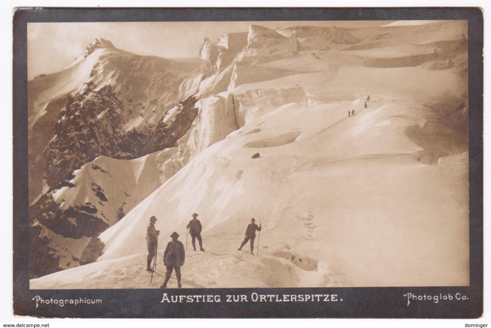 Österreich Südtirol Original Foto !!!  Ca.1910   15X10 Cm   - Aufstieg Zur Ortlerspitze - Österreich