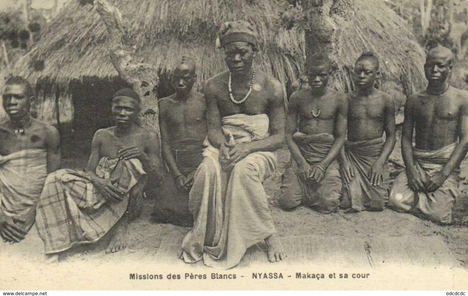 Missins Des Pères Blancs NYASSA Makaca Et Sa Cour RV - Mozambique