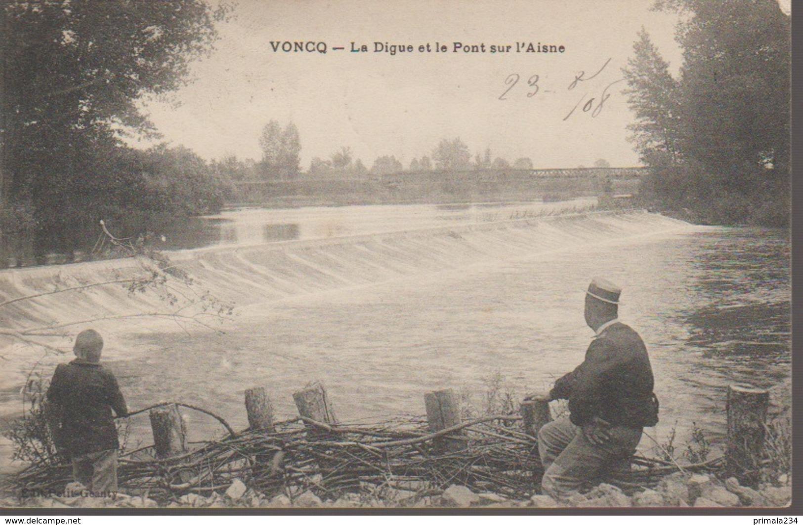 VONCQ - LA DIGUE - Frankreich