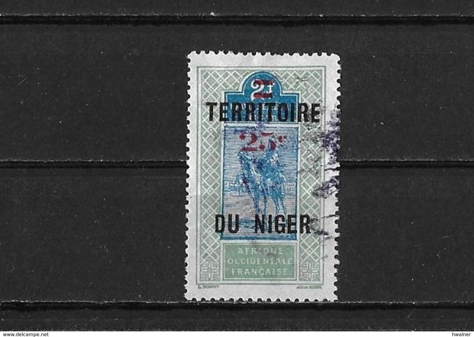 Niger Yv. 19 O. - Niger (1921-1944)