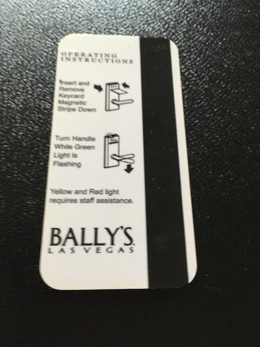 Hotelkarte Room Key Keycard Clef De Hotel Tarjeta Hotel   LAS VEGAS BALLY `S OVER THE HEDGE - Télécartes
