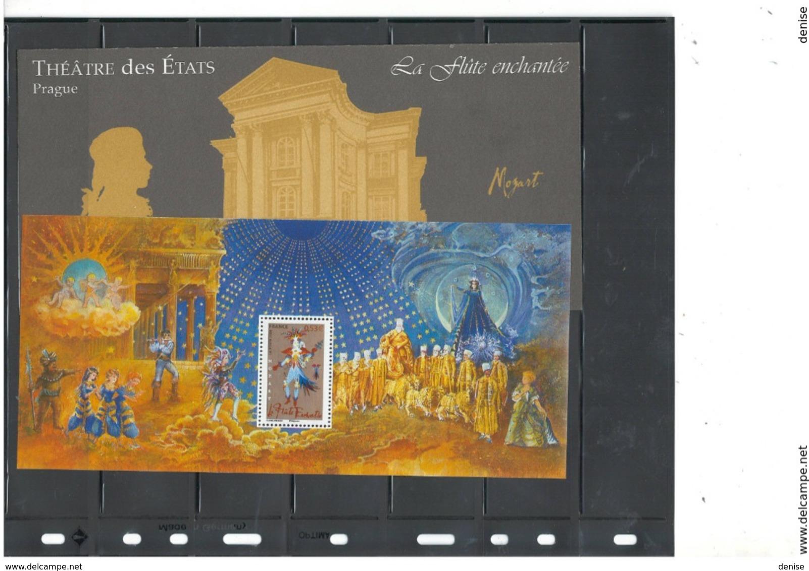 France  Lot 15  Blocs Souvenirs Année 2003 - 2006 - DEPART 1 EURO - Avec Leur Dépliant Cartonné - Souvenir Blocks & Sheetlets