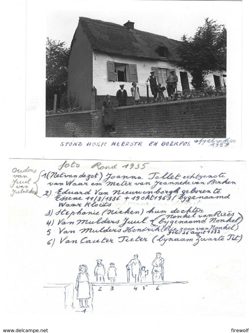 X06 - Foto 1935 - Asse - Boekfos - Info Op Apart Papier - Asse