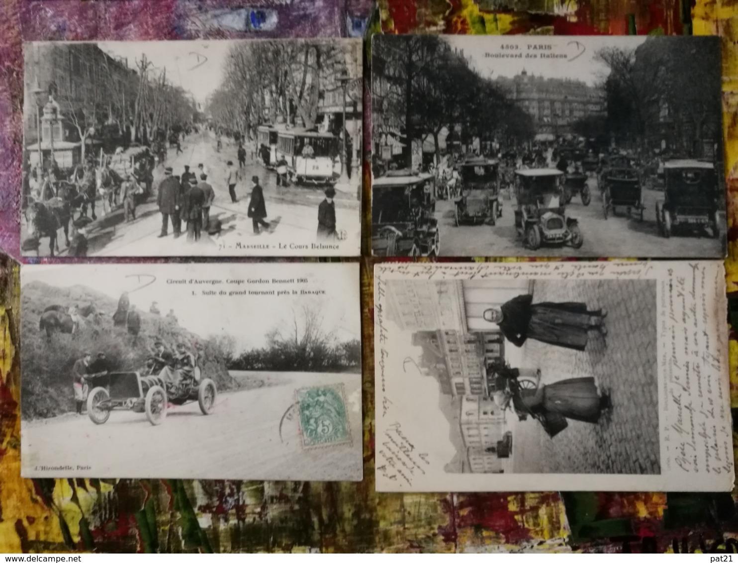 Lot De 65 CPA France Régional. Superbe Ensemble, Trains  Marché  Commerces  Villages Animations......Tout Est Scanné - Cartes Postales