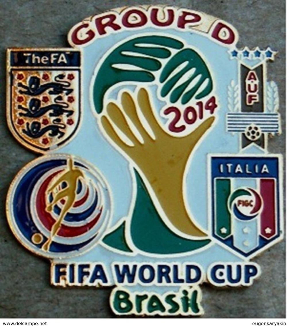 Pin FIFA 2014 Group D Italy England Costa Rica Uruguay - Calcio