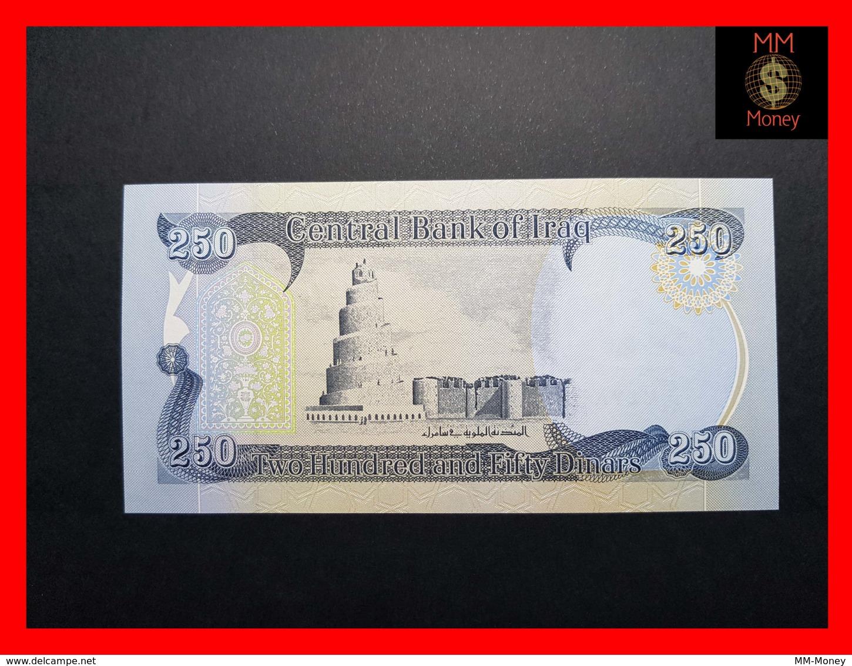 IRAQ 250 Dinars 2012  P. 91 B  UNC - Iraq