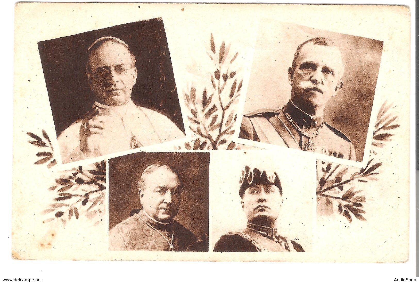 Die Vereinbarung Zwischen Italien Und Dem Vatikan - 11. Februar 1929 (V002) - Vatikanstadt