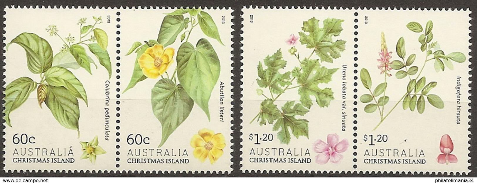 Christmas Island 2013 - Arbustes à Fleurs - Christmas Island