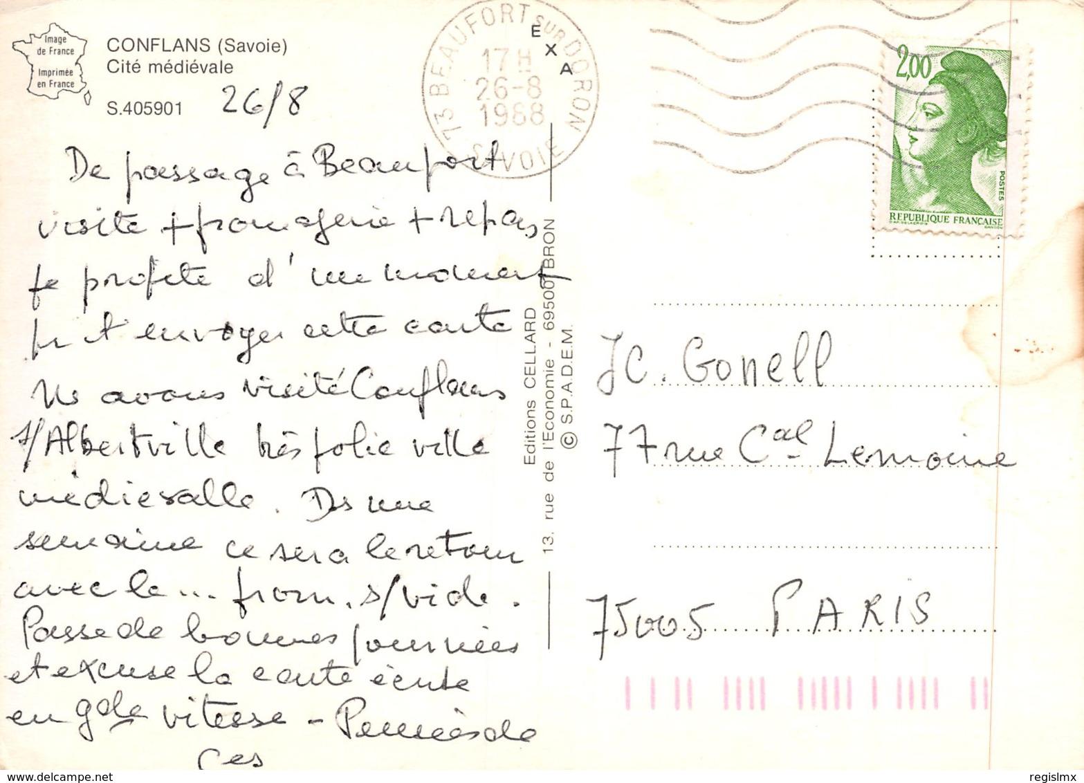 73-CONFLANS-N°T2549-A/0399 - Frankreich
