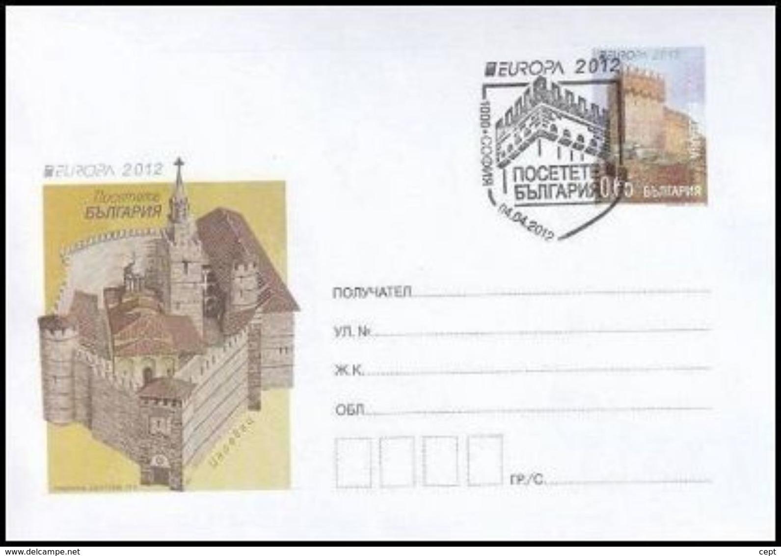 Bulgaria 2012  - Europa Cept - Cover - Europa-CEPT