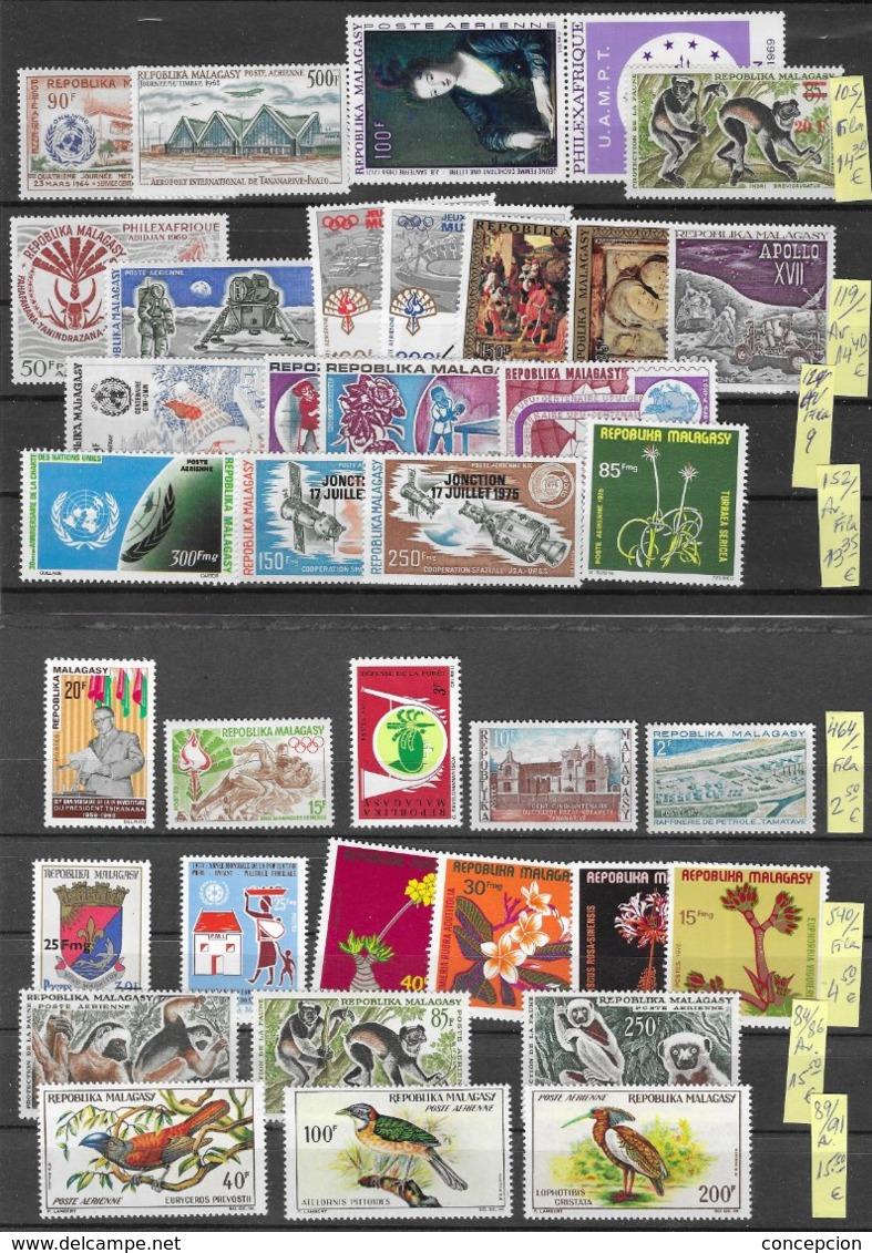 MADAGASCAR  AE  AÑO 1961 AL 1974 - Madagascar (1960-...)