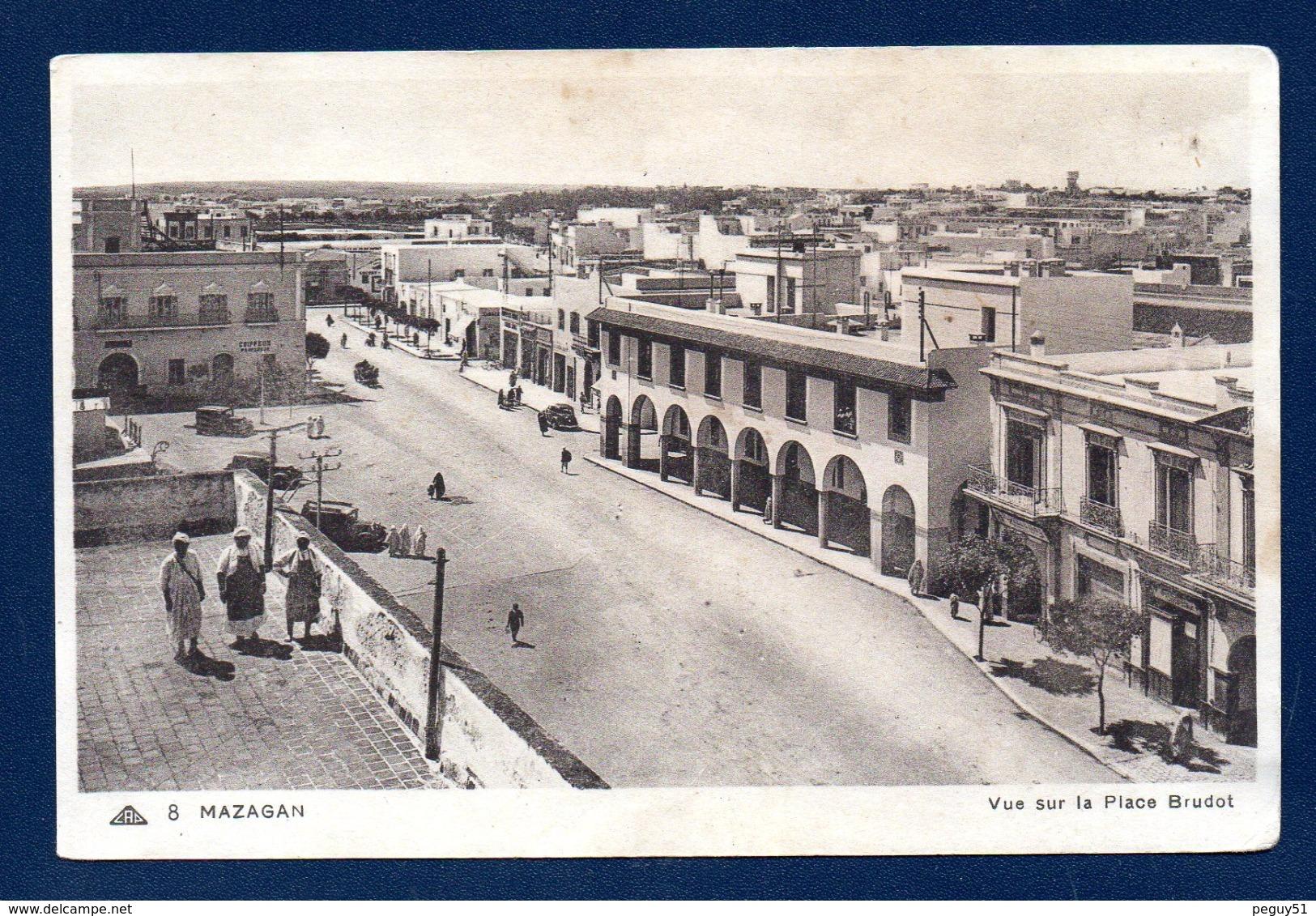 Maroc. Mazagan. Vue Sur La Place Brudo - Altri