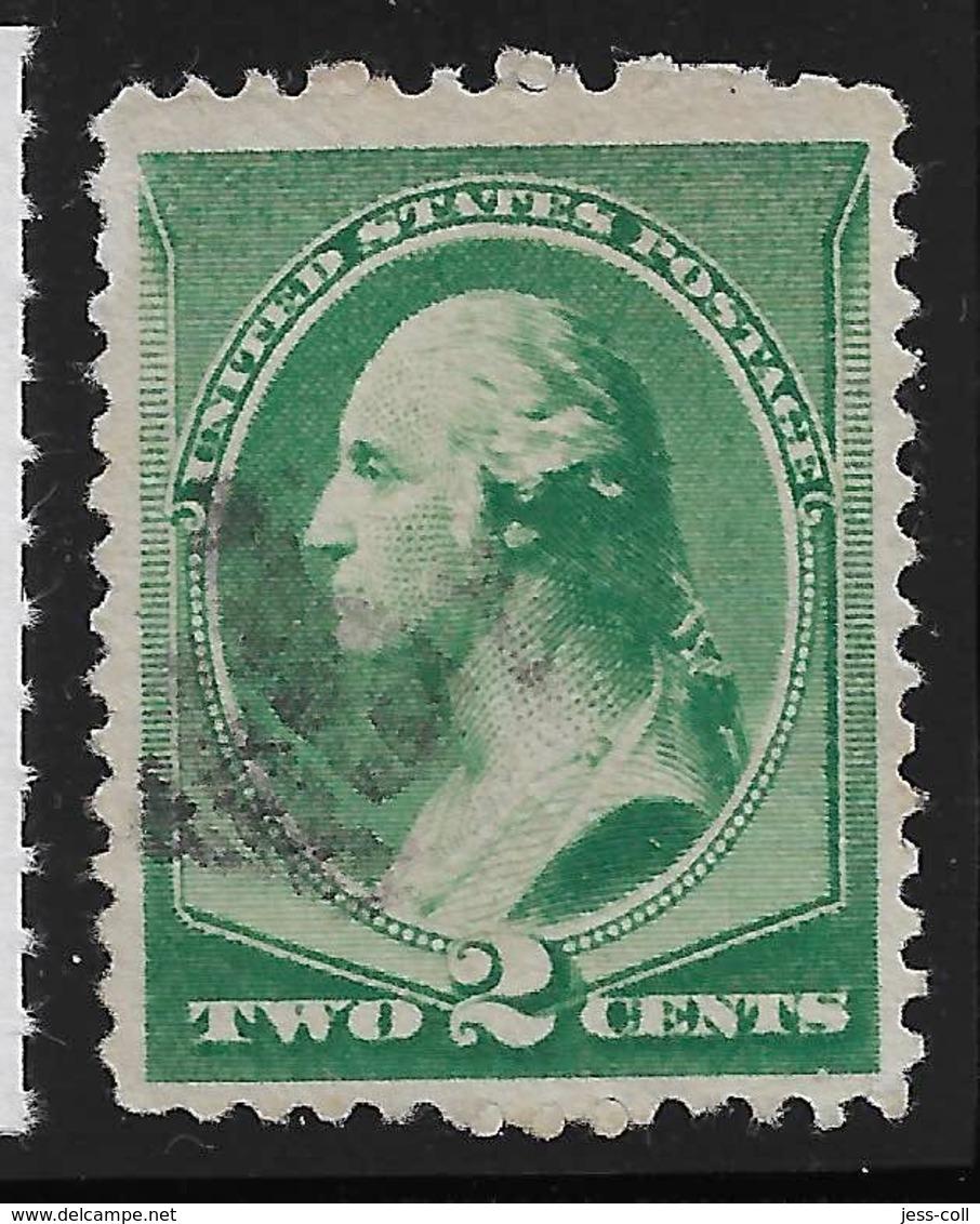 Yvert 64 Michel 54 - 2 C Vert - O - Used Stamps