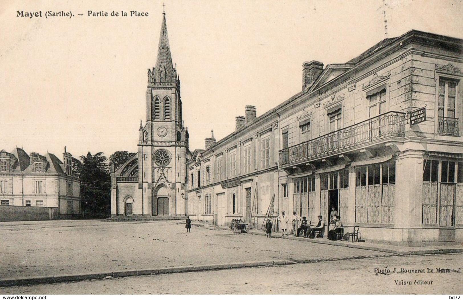 MAYET  ( 72 ) - Partie De La Place - Mayet