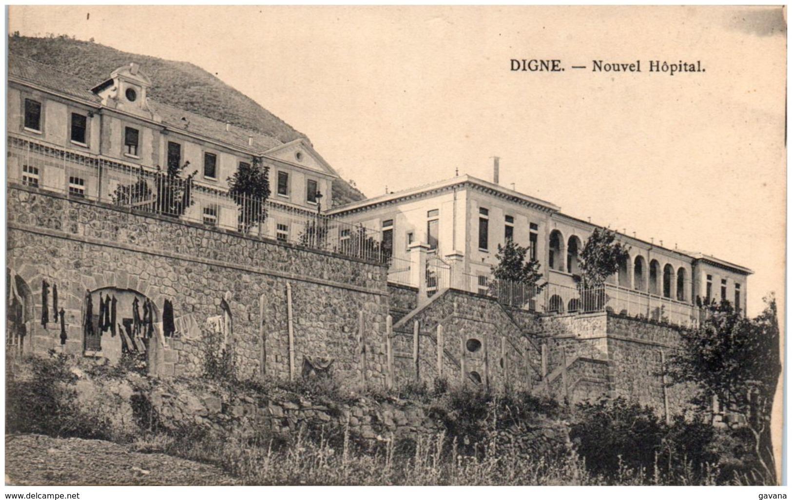 04 DIGNE - Nouvel Hopital - Digne