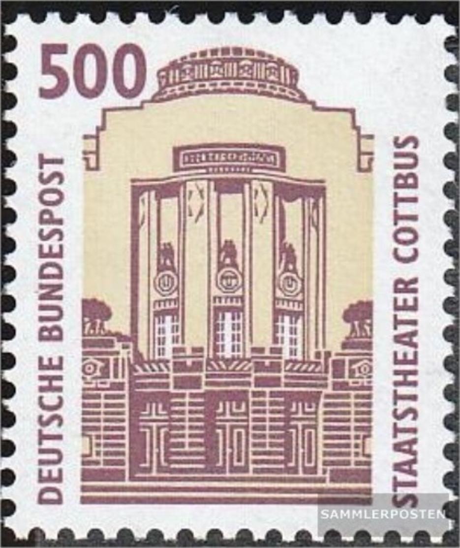 BRD (BR.Deutschland) 1679 (completa.edizione) MNH 1993 Teatro Cottbus - Nuevos
