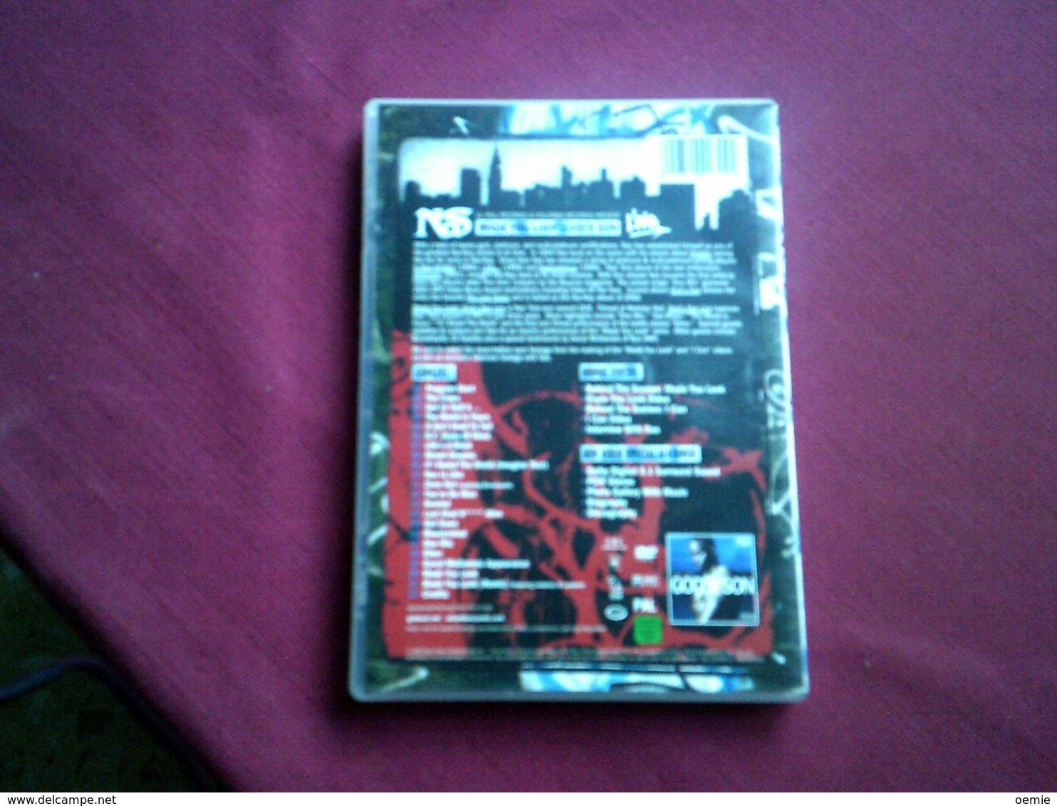 NAS MADE YOU LOOK GOD'S SON   °°  DVD  22 TITRES - Concert & Music